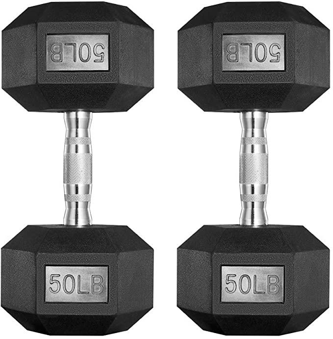 Papababe Dumbbells free weights set