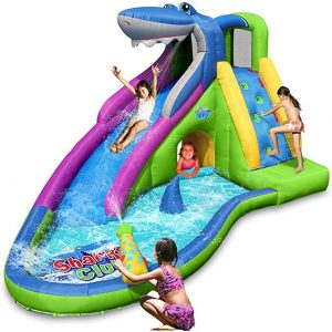 ACTION AIR Inflatable Water slide jumper.
