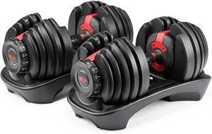 Bowflex selecttech 552 adjustable dumbbells sets