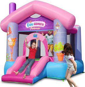 Princess Bounce House with Air Blower