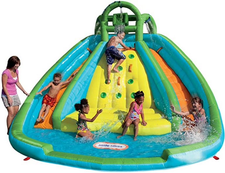 3 Little Tikes Rocky Mountain River Race Inflatable Slide Bouncer