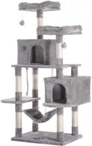 Hey-bro Extra Large Multi-Level Cat Tree Condo