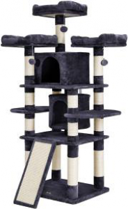 67 inches Feandrea cat tree with Multi-Level Cat Tree