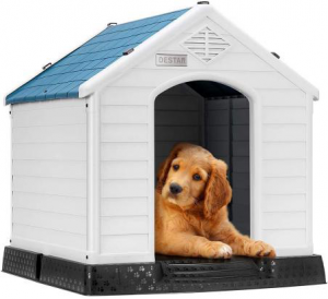 Giantex Plastic Dog House Waterproof Ventilate